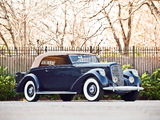 Lincoln Model K Convertible Victoria by Brunn (408) 1938 wallpapers