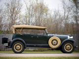Lincoln K Dual Cowl Sport Phaeton 1930 pictures