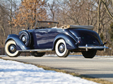 Photos of Lincoln Model K Convertible Victoria 1939