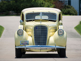 Pictures of Lincoln Model K 2-window Berline by Judkins 1937