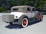Lincoln Model L Convertible Sedan by Derham 1930 wallpapers