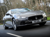 Images of Maserati Ghibli UK-spec 2013