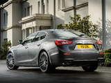 Maserati Ghibli UK-spec 2013 images