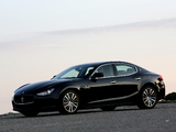 Maserati Ghibli 2013 photos