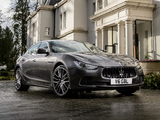 Pictures of Maserati Ghibli UK-spec 2013