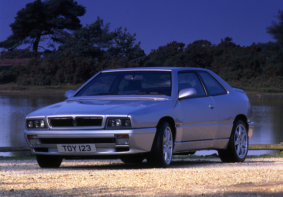 Download / Preview - Wallpapers of Maserati Ghibli 1992–98