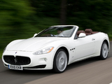 Maserati GranCabrio UK-spec 2010 wallpapers