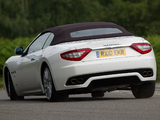Photos of Maserati GranCabrio UK-spec 2010