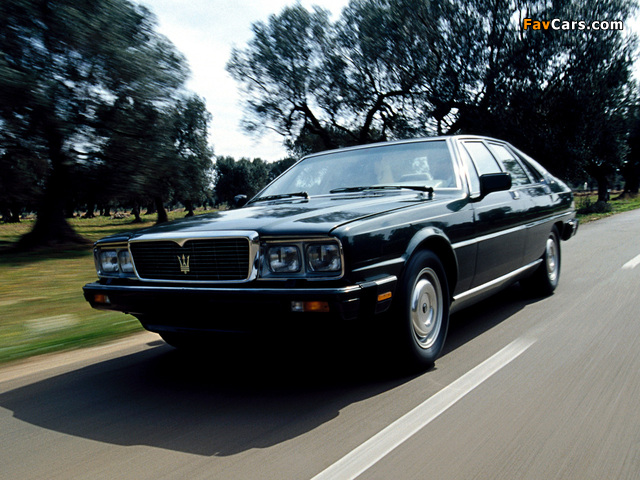 Pictures of Maserati Royale 1986–90 (640 x 480)