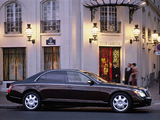 Maybach 57 2002–10 photos
