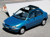 Pictures of Mazda 121 (DB) 1991–96