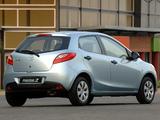 Mazda2 ZA-spec (DE) 2007–10 pictures