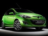 Mazda2 Black 5-door (DE2) 2011 pictures