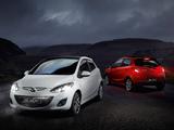 Mazda2 Black 5-door (DE2) 2011 wallpapers
