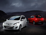 Mazda2 Black 5-door (DE2) 2011 wallpapers