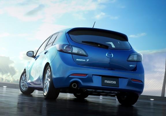Mazda 3 2011 hatchback