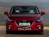 Wallpapers of Mazda3 Sedan UK-spec (BM) 2013