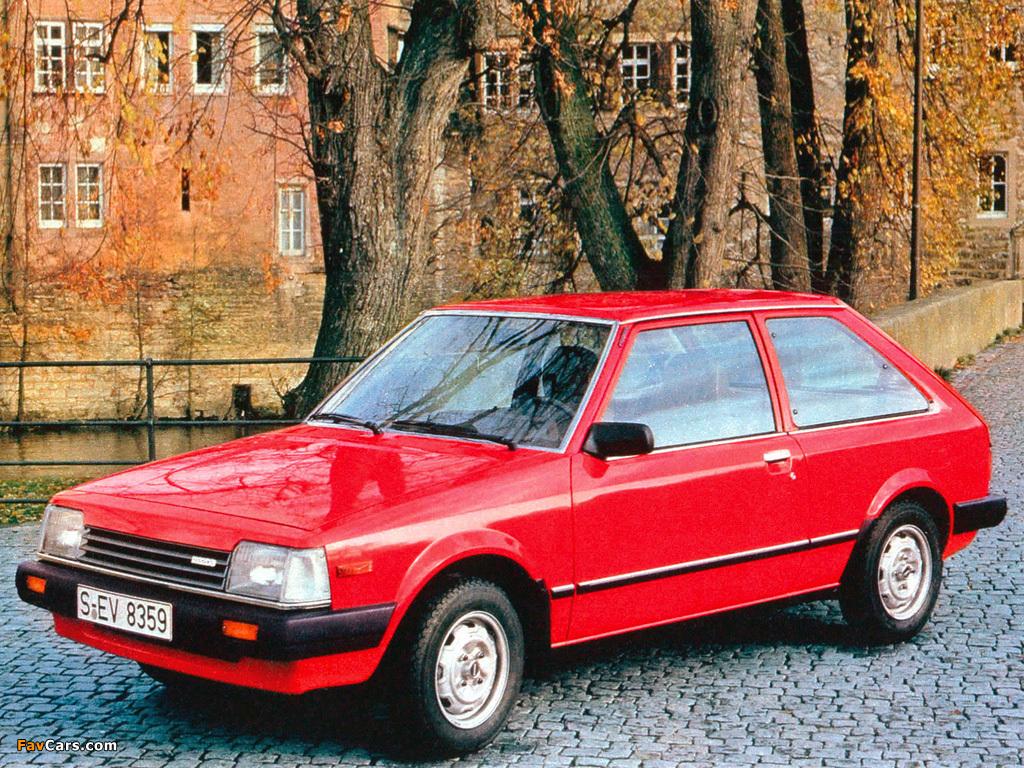 Pictures of Mazda 323 3-door (BD) 1980–85 (1024 x 768)
