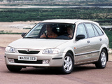 Pictures of Mazda 323 F (BJ) 1998–2000