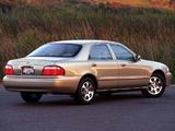 Mazda 626 Sedan US-spec 1999–2002 photos