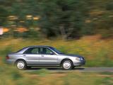Pictures of Mazda 626 Sedan US-spec 1999–2002