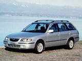 Wallpapers of Mazda 626 Wagon (GF) 1999–2002