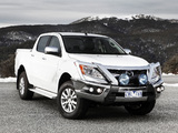 Images of Mazda BT-50 Double Cab AU-spec 2011