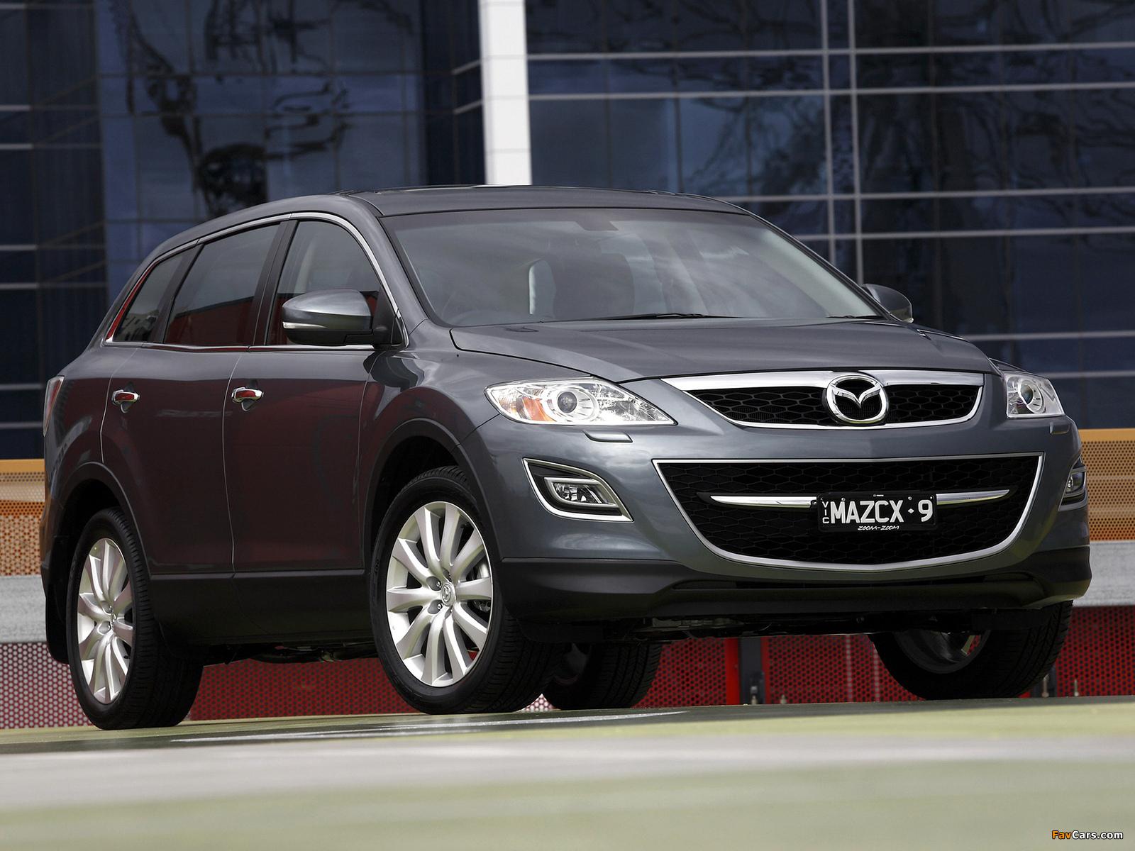 Pictures Of Mazda Cx 9 Au Spec 2009 1600x1200
