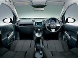 Mazda Demio 13-SkyActiv (DEJFS) 2011 wallpapers