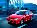 Mazda Familia S-Wagon 2001–03 wallpapers