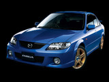 Mazda Familia Sport 20 Sedan 2001–03 wallpapers