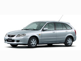 Wallpapers of Mazda Familia S-Wagon S-f Special 2002–03