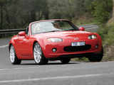 Pictures of Mazda MX-5 Roadster AU-spec (NC1) 2005–08