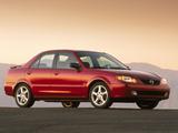 Mazda Protege (BJ) 2000–03 wallpapers