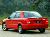 Pictures of Mazda Protege (BJ) 1998–2000