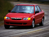 Wallpapers of Mazda Protege (BJ) 1998–2000
