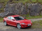 Wallpapers of Mazda RX-8 UK-spec 2003–08