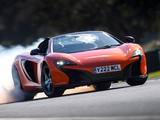 Images of McLaren 650S Spyder UK-spec 2014