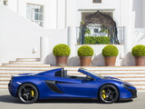 Photos of McLaren 650S Spyder 2014