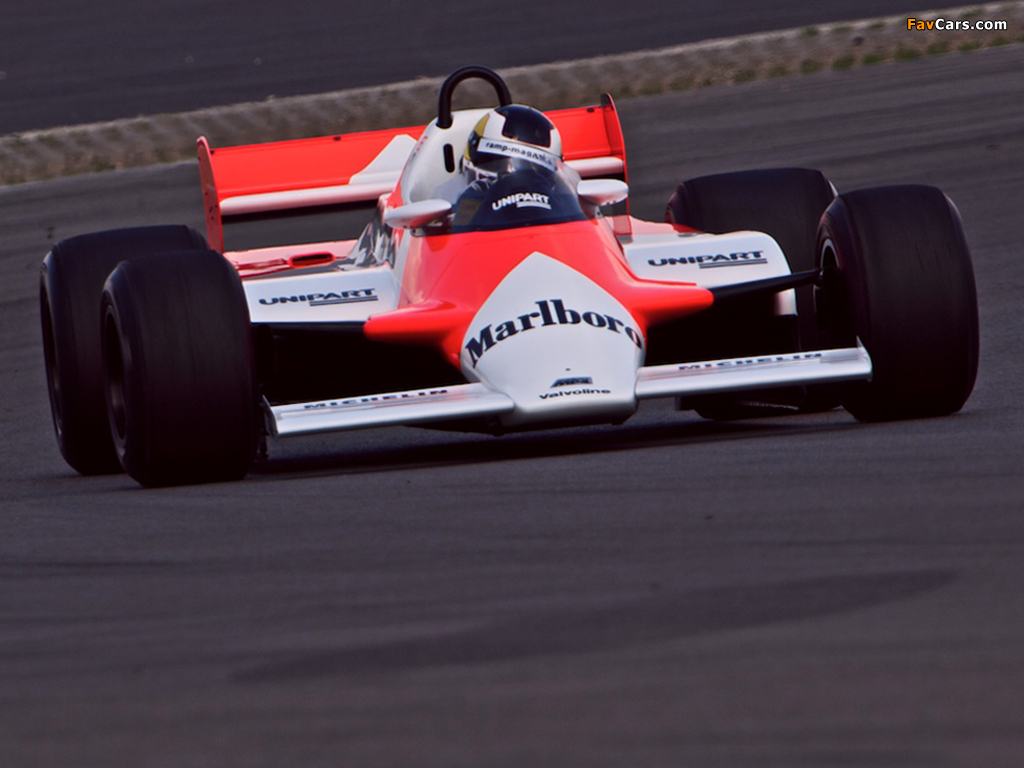 Equipe McLaren de Formula 1 de 1981 - by favcars.com