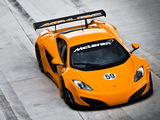 Photos of McLaren MP4-12C GT3 2011
