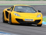 McLaren MP4-12C Spyder 2012–14 wallpapers