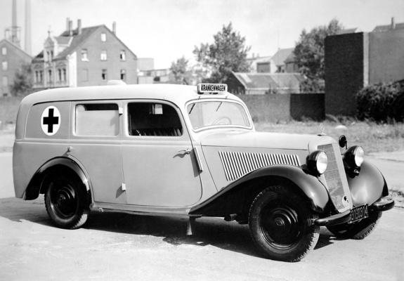 wallpapers of mercedes benz 170 v krankenwagen w136i 1949 50. Black Bedroom Furniture Sets. Home Design Ideas