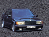 Photos of AMG 190 E 3.2 (W201) 1992–93