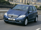 Mercedes-Benz A 180 CDI 5-door UK-spec (W169) 2008–12 wallpapers
