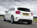Mercedes-Benz A 45 AMG UK-spec (W176) 2013 wallpapers