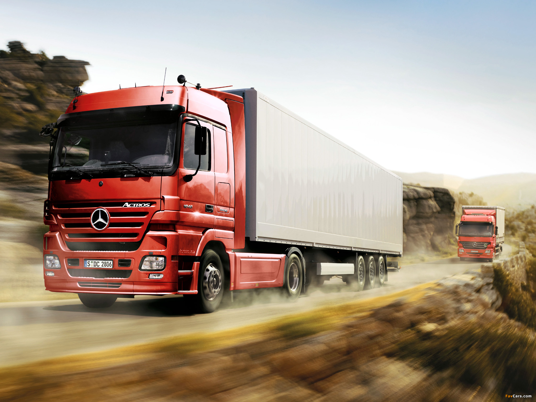 Wallpapers Of Mercedes Benz Actros 1846  MP2  2002   09  2048 X 1536