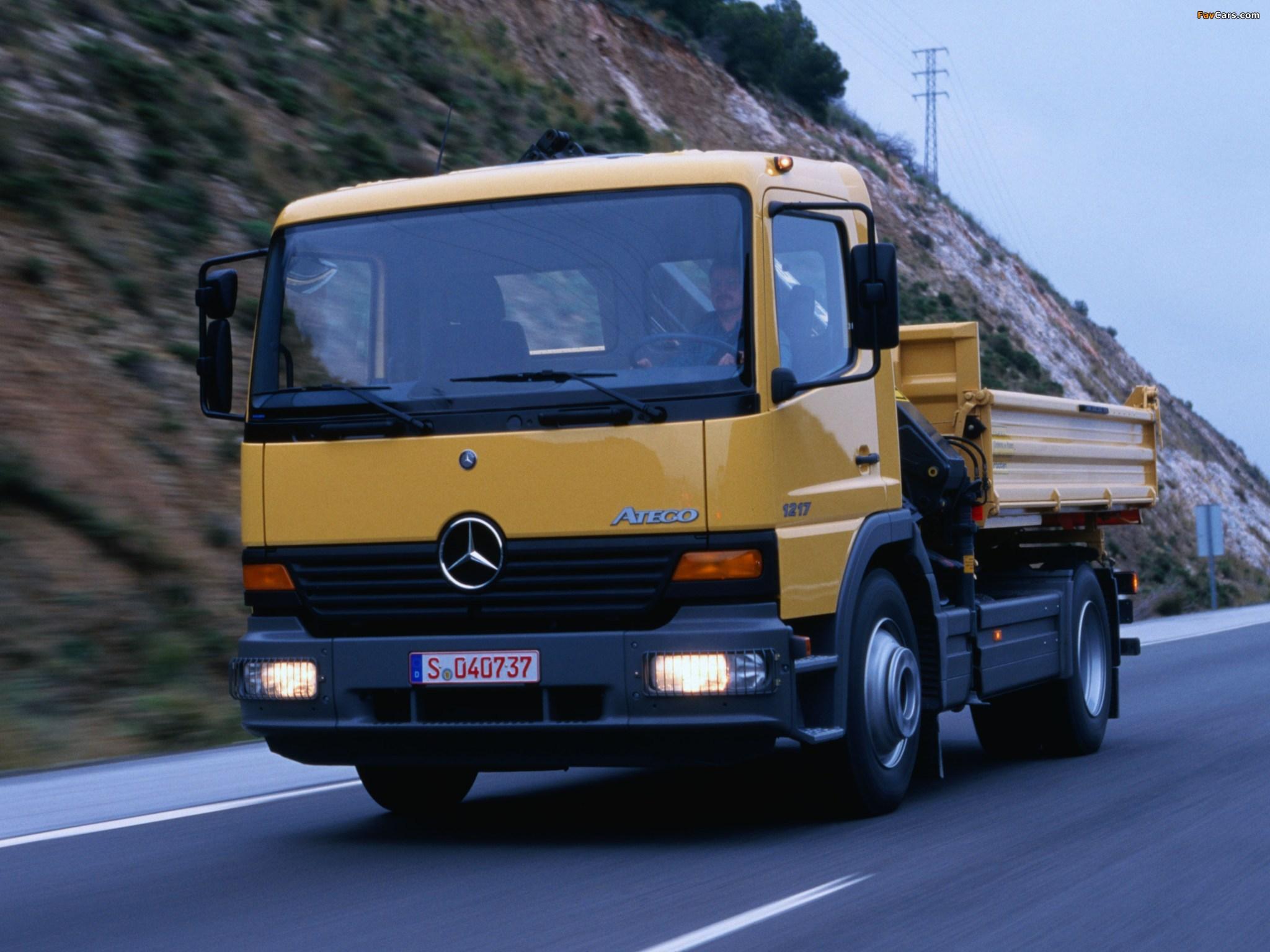 Mercedes-benz atego 1222 - 1e