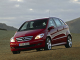 Mercedes-Benz B 200 Turbo (W245) 2005–08 images