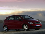 Mercedes-Benz B 200 Turbo (W245) 2005–08 photos